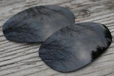 Slate Black Polarized Lenses for Oakley Straight Jacket - 1st Version from 1999