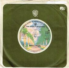 """THE EVERLY BROTHERS - FERRIS WHEEL / WALK RIGHT BACK - RARE 7"""" 45 VINYL RECORD"""