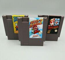 Super Mario Bros Set - 1 + 2 + 3 Nintendo Entertaiment System Modul / Spiele NES