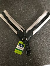 Top Paw New Fit Dog Harness, Reflective  size:  LARGE, SILVER