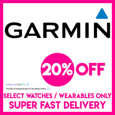 GARMIN 20% OFF SELECT WATCHES - Coupon-Promo-Discount-Code - VERY FAST DELIVERY!