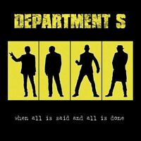DEPARTMENT S - WHEN ALL IS SAID AND ALL IS DONE   CD NEW+