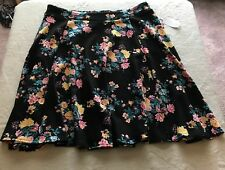 Women's Boutique Skirt W/Pockets, Size 1X, Below Knee