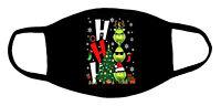 Der Grinch Weihnachtsmaske Waschbar 60 Grad Wiederverwendbarer Mundnasenschutz