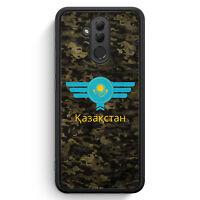 Kasachstan Kazakhstan Camouflage mit Schriftzug Huawei Mate 20 Lite SILIKON H...