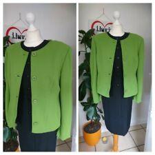 Betty's Barclay pea  Green Vintage 1980s 80s Short Jacket Size 12