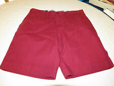 Men's Tommy Hilfiger 36 Classic Fit shorts 610 Beet Red 7875107 casual TH