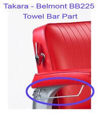 Takara Belmont  Elegance BB-225 Barber Chair Towel Bar Replacement Part