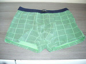 Men's Pesail Boxer Shorts in Green Size Small New Without Tags Size Small