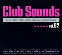 CLUB SOUNDS,VOL.82 (TIESTO&SEVENN, EDX, ROBIN SCHULZ & JAMES BLUNT,...) 3CD NEW