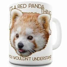 Twisted Envy It's A Red Panda Thing Ceramic Novelty Gift Mug