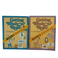 Getting Ready To Read Book 1 & 2 Forgan by Goodyear Vintage Readiness 4 Reading