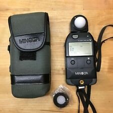 Used Minolta Flashmeter V with Case and accessories