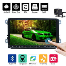 "9"" Autoradio Bluetooth Android GPS + Camera For VW GOLF 5 6 PASSAT Touran Caddy"