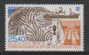 FSAT/TAAF/French Antarctic - 1992, 25f40 Woce Research stamp - MNH - SG 304