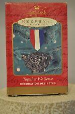 Hallmark - Together We Serve - Metal - Keepsake Ornament