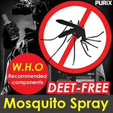 Mosquito Bite Repellent DEET Free Spray100ml WHO Recommended Zika virus Dengue