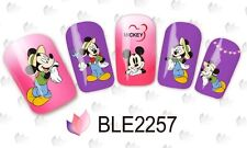 Nail Art Water Decals Stickers Transfers Mickey Mouse Gardening Kawaii (2257)