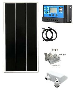 100W 150W 200W solar panel kit 20A Battery Charge Controller Caravan motorhome