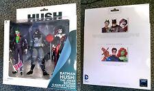 DC Batman Hush Action Figure Box Set Stealth Batman Joker Harley Quinn 3 pack