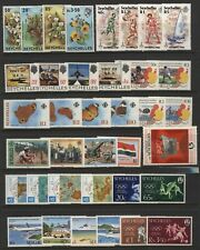 Seychelles Collection Commemorative Sets Unmounted Mint