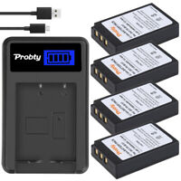 PS-BLS1 Batteries or Charger for Olympus PEN E-PL1 E-PM1 EP3 EPL3 Evolt E-420
