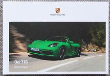 PORSCHE 718 BOXSTER CAYMAN S   T   GTS 4.0   2020   PROSPEKT BROCHURE Hardcover