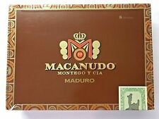 MACANUDO Cigar Box Empty & Clean Perfect for Display/Storage MANCAVE