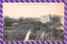CARTOLINA 75 - PARIGI - Panorama la villette e buttes-chaumont