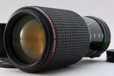 【AB- Exc】 Canon New FD NFD 80-200mm f/4 L MF Zoom Lens w/Hood From JAPAN #2738