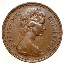 GREAT BRITAIN 1 Penny One Penny 1971 №5569
