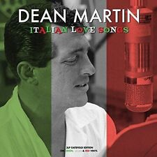 Dean Martin Italian Love Songs Triple LP Vinyl Europe Not Now 2016 36 Track 3lp