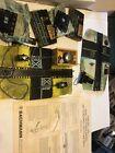 Vintage HO Scale Bachmann Dual Crossing Gates #1443 & 2 Atlas Switch Control Box