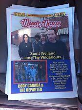 Scott Weiland Last Concert Newspaper Stone Temple Pilots Rare Vr Dec 11 Houston