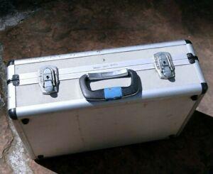 "18X13X6"" Hard Shell Aluminum Metal Case Camera large heavy duty vintage"
