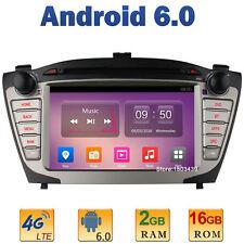 Android 6.0 Car DVD Player GPS Radio 2GB RAM For Hyundai IX35 Tucson 2009-2015