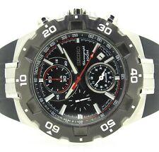 Rare SEIKO 7T62 Mens Steel Chronograph Dive Quartz Wrist Watch 44MM