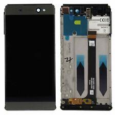 Sony pantalla lcd completo con Marcos para Xperia XA MUY F3211 Negro ersatztei