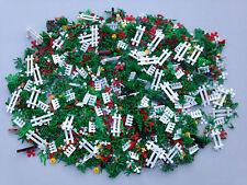 LEGO 250 NEW Random Pieces Of Garden Accessories Plants Flowers Grass Stem Fence