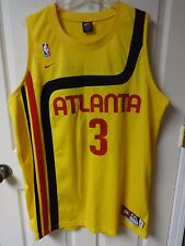 Vintage Shareef Abdur Rahim Jersey Men 2X Length +2 Nike Throwback Atlanta Hawks