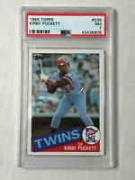 KIRBY PUCKETT 1985 Topps ROOKIE RC #536! PSA NM 7! TWINS! CHECK MY OTHER ITEMS!