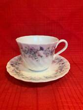WEDGWOOD FOOTED CUP & SAUCER ~ ANGELA #R4870