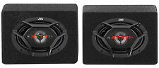 Pair New JVC CS-DR6940 6x9 1100 Watt 4-Way Car Stereo Speakers + Enclosures