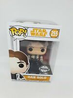 Funko Han Solo Exclusive Star Wars Pop Vinyl #255 vinyl figure rare GTC1