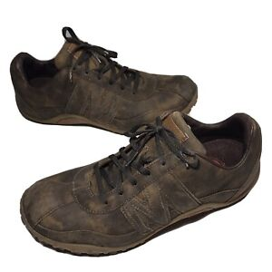 Merrell Mens Sprint Blast Luxe Dappled Chocolate Leather Oxfords Size 9.5 US