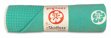 SHORE Yogitoes R skidless yoga towel 24X68 MANDUKA LIGHT TEAL AQUA MARINE