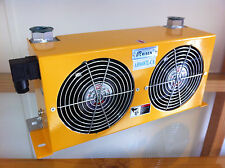 BRAND NEW HYDRAULIC AIR/OIL COOLER -DUAL FAN POWER-  60L/Min AC 220V (AH-0608TL)