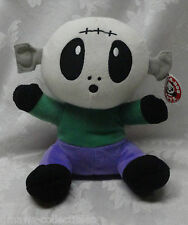 "NWT Skeleton Baby Head Plush Toy 13"" Peek A Boo Halloween Scarey RARE HTF Lovey"