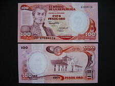 Colombia 100 pesos oro 1.1.1987 (p426c) UNC