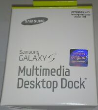 Multimedia Desktop Dock & Charger For Samsung Galaxy S Stratosphere Verizon i405